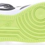 Nike Air Force 1 Mid GS White Black Volt Lime-Cloud Grey