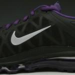 Nike Air Max+ 2011 Black Metallic Cool Grey-Club Purple Available
