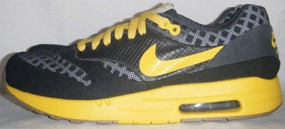 aa6f8e22b7 Nike Air Maxim 1 Torch Black/Varsity Maize Sample | SneakerFiles