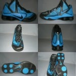 Nike Air Shox Hyperballer Black Photo Blue-Black
