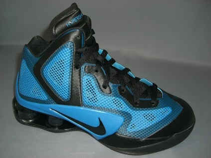 Nike Air Shox Hyperballer Black Photo Blue-Black  b4bca7667