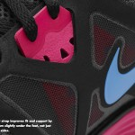 Nike Lunarglide+ 3 Black Pink-Blue