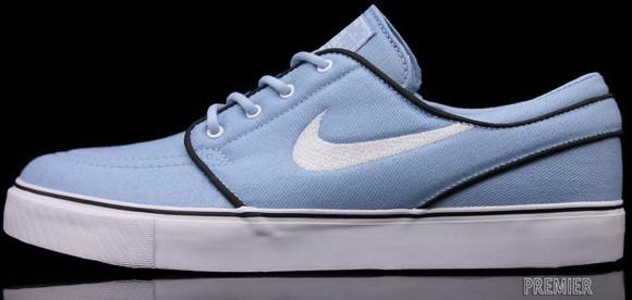 Nike SB Zoom Stefan Janoski Soft Blue White Chambray