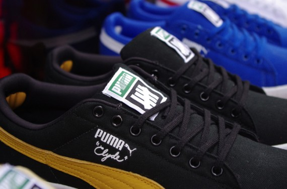 UNDFTD x Puma Clyde Canvas - Release Info