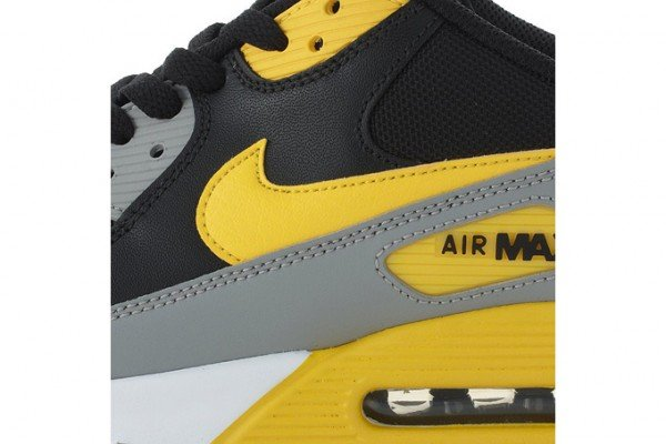 Nike Air Max 90 - Black/Gray-Yellow - July 2011