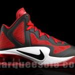 Nike Air Shox Hyperballer - Varisty Red/Black-White