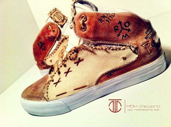 Custom Sneakers by 'ROM'
