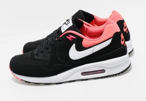 Nike Air Max Light - Black/Alarm Pink-White