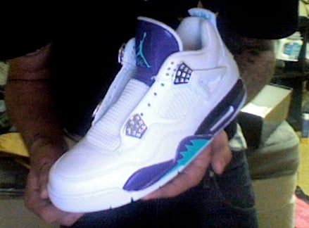 Air Jordan IV (4)  Grape  Custom by El Cappy  33d38703ad74