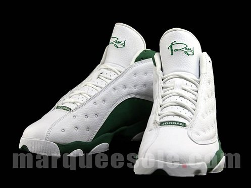 Air Jordan Retro XIII (13) - Ray Allen Three-Point Record PE ... e1b04d5f2