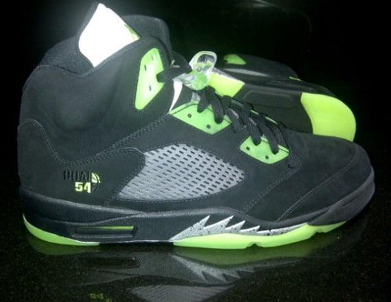 Air-Jordan-V-(5)-Quai-54-Black -Green