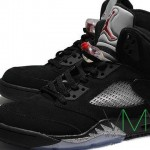 Air Jordan V (5) Retro Black/ Metallic Silver – More Images