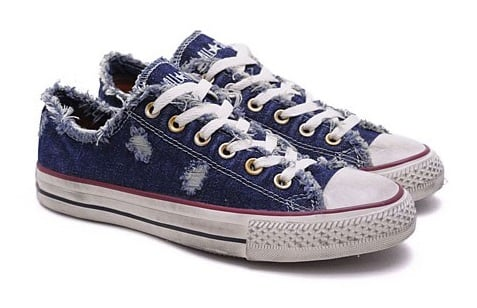 converse all star denim