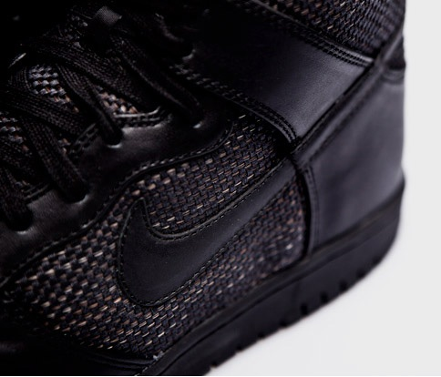 Maharam x Nike Dunk High - Black/Black