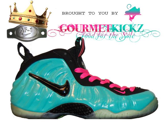 best loved c4a88 171e8 Nike Air Foamposite Pro Custom  South Beach    SneakerFiles