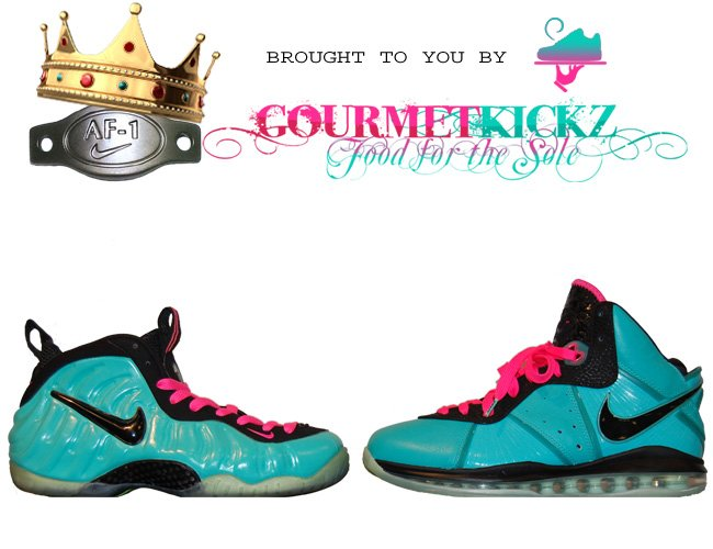 78e61f0b2c6 nike air foamposite south beach thermal customs by smooth tip ...