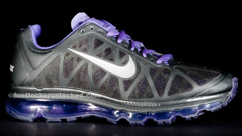 Nike Air Max 2011 - Black/Metallic Cool Grey-Club Purple