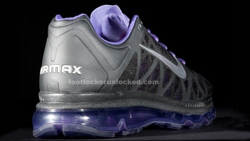 Nike Air Max 2011 - Black/Metallic Cool Grey-Club Purple