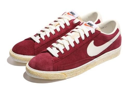 Nike Blazers Bajo Burdeos Superior tumblr precio barato PhPzc