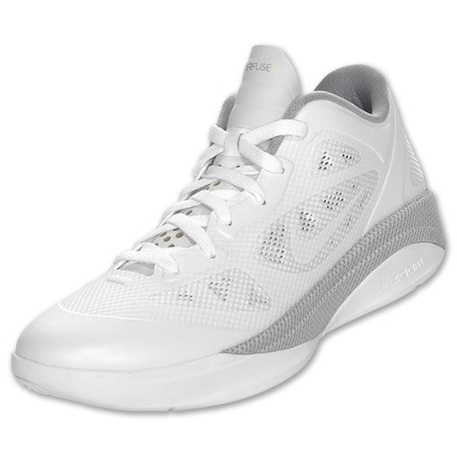 Nike Hyperfuse 2011 Low White  Wolf Grey Now Available  af7d3dc371