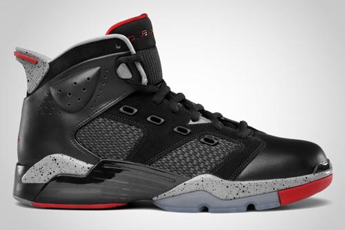 Release Reminder: Jordan 6-17-23 Black/Varsity Red-Cement Grey