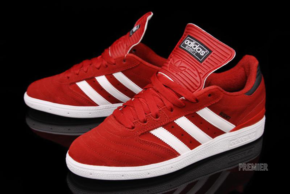 adidas busenitz red white