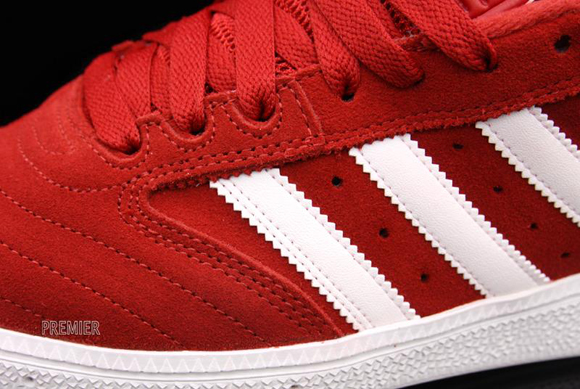 adidas Busenitz University Red Run White  f26d91d08