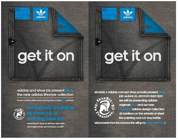 adidas Originals Blue Launches at Shoe Biz SF