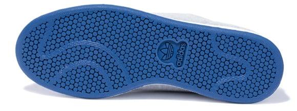 adidas Originals Stan Smith 2 Fleece Grey Blue