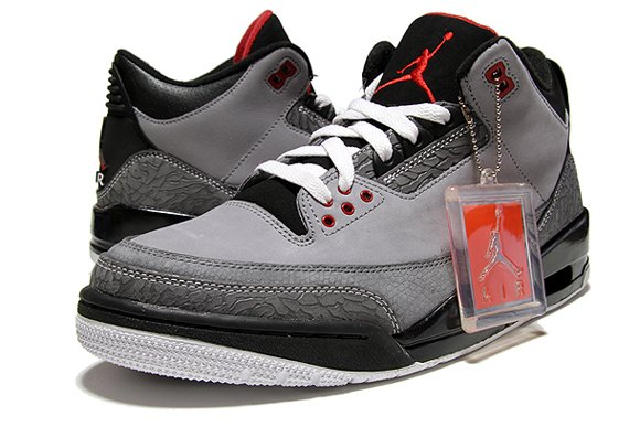Air Jordan III (3) Stealth Further Look
