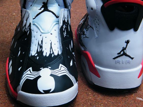 Air Jordan VI (6) Venom Custom