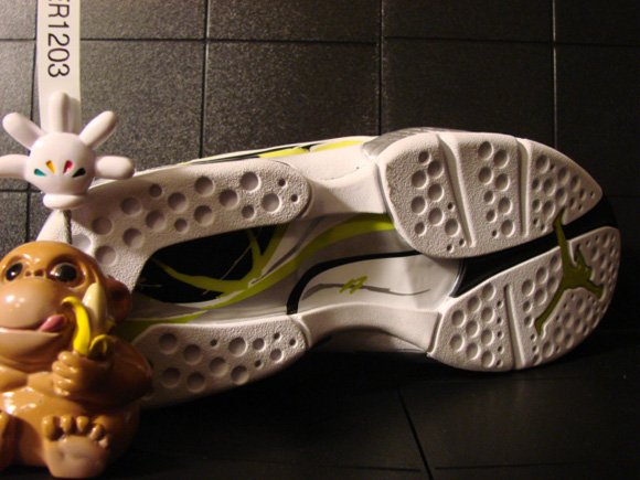 Air Jordan VIII (8) Low Womens White Bright Cactus-Silver Unreleased Sample