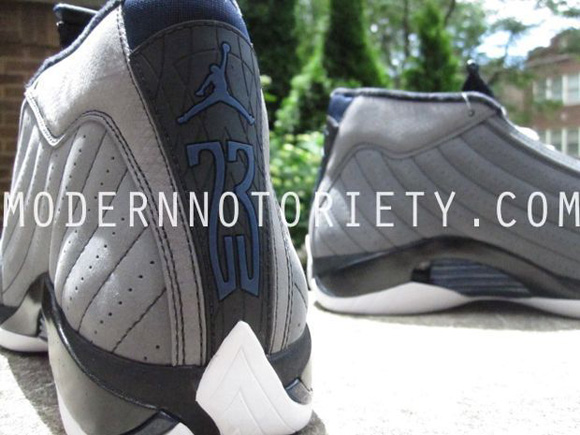 Air Jordan XIV (14) Light Graphite Midnight Navy–Black First Look