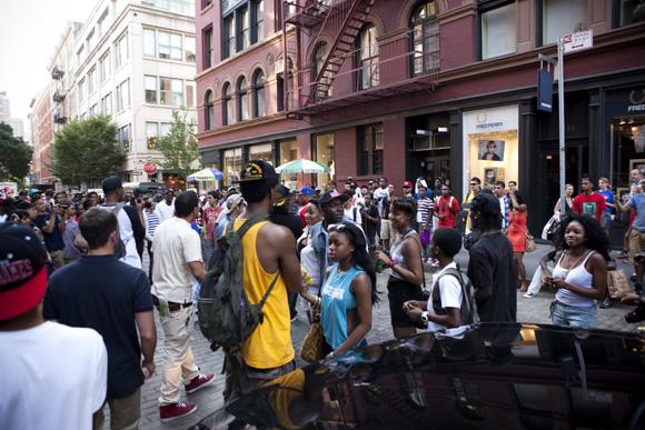 Big Sean at Adidas Originals Store New York Recap