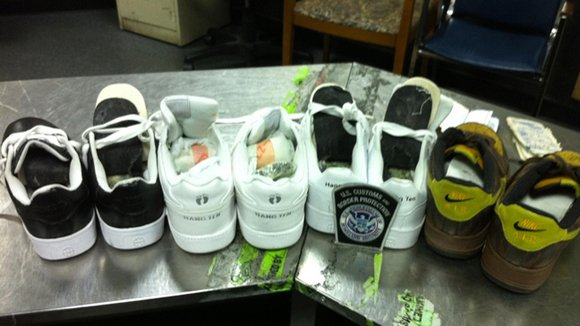 Cocaine Found at JFK Airport in Sneakers