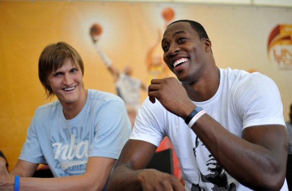 Dwight Howard Visits Moscow