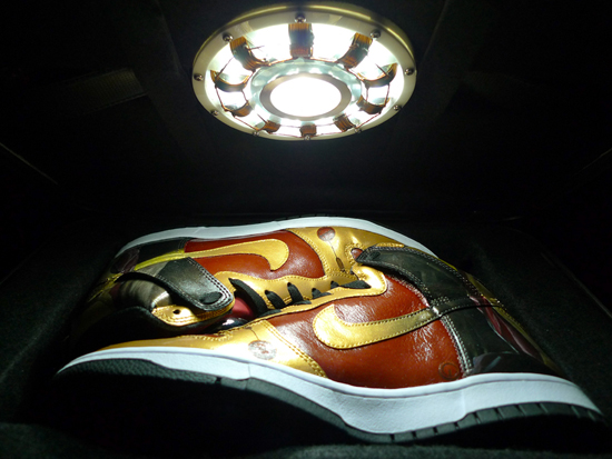 Nike Dunk High Custom - 'Iron Man' by J'field Yeo