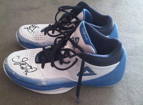 Jason Kidd Auctions Off Peak Kidd III (3) NBA Finals Game 6 Sneakers