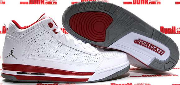 Jordan C-Series White Metallic Silver-Varsity Red