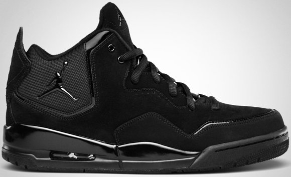 Jordan Courtside Black Black August 2011
