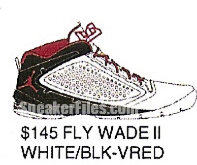 Jordan Fly Wade II (2) Debut