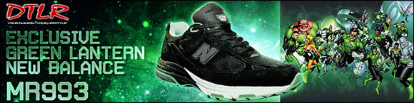 Green Lantern x New Balance MR993 BG