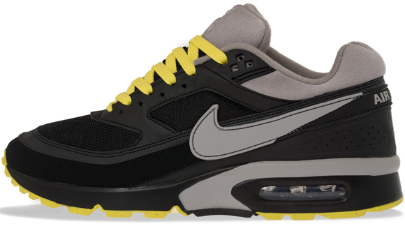 Nike Air Classic BW Textile Black Grey-Yellow