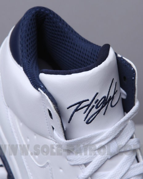 Nike Air Flight Classic White Navy-Blue