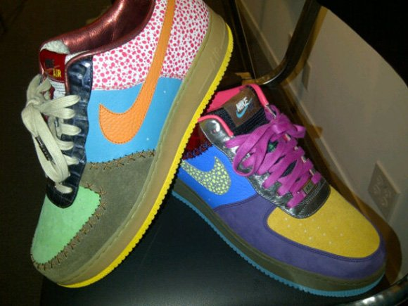 Nike Air Force 1 Bespoke x DJ Clark Kent What The F*ck