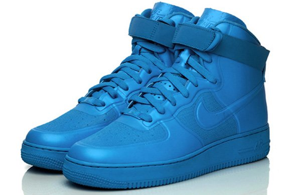 nike air force 1 hi hyperfuse blue glow worm