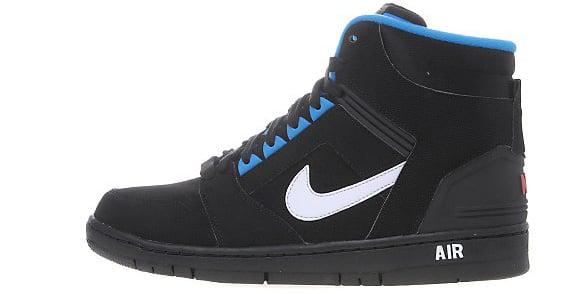 nike air force 2 black and blue
