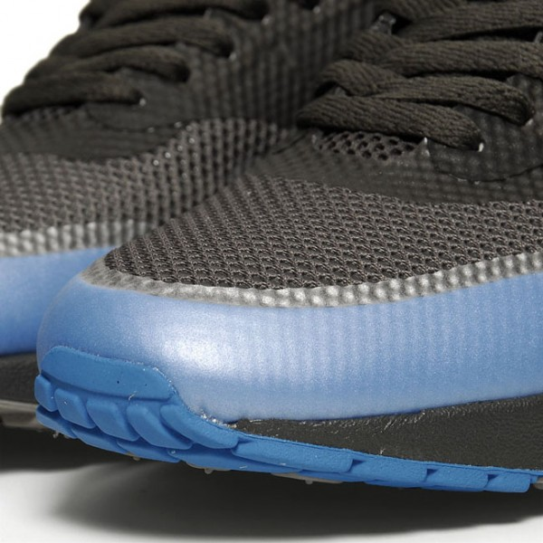 Nike Air Max 1 Hyperfuse Negro / Equipo Universitario Real zrMQfHup4