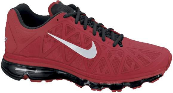 Nike Air Max 2011 Sport Red Metallic Silver-Black