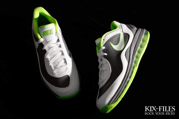 c2bbe18ddd Nike Air Max 360 BB Low 'Dunkman' – White/Cool Gray-Electric Green